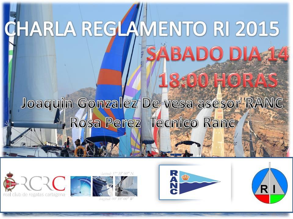charla 2015 RCRCARTAGENA