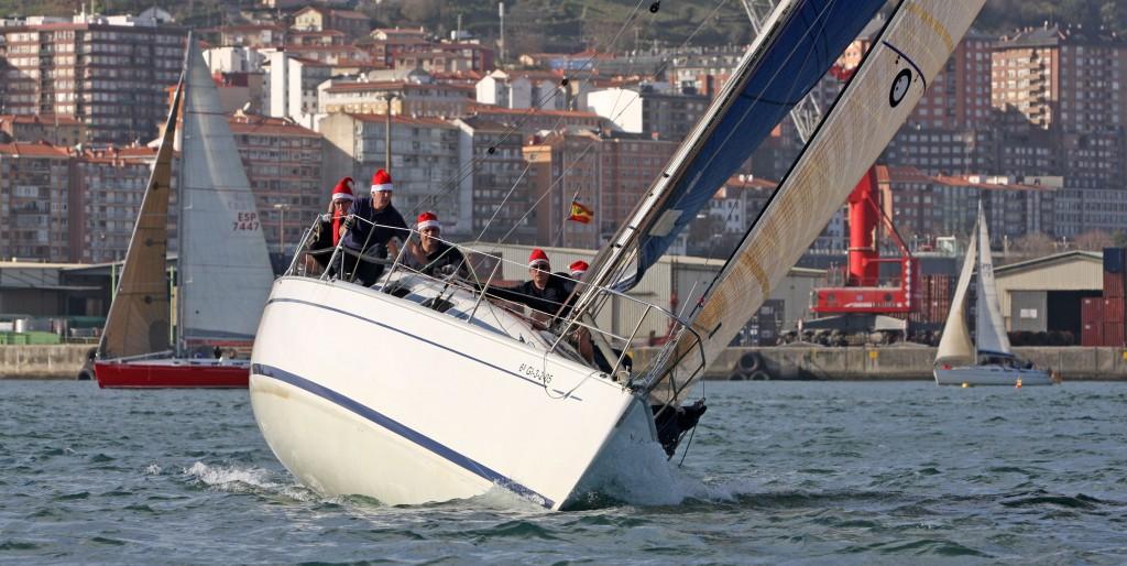 foto nexus 1 vencedor regata del gallo 2015 en la clase C