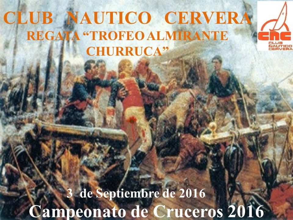 Cartel Regata Almirante Churruca